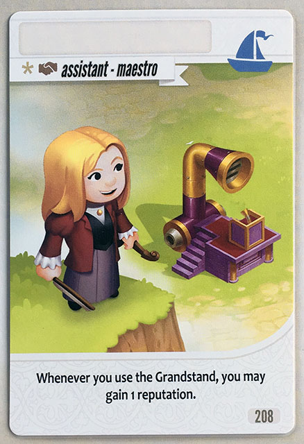 Charterstone Card 208
