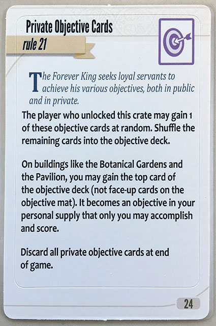 Charterstone Card 24