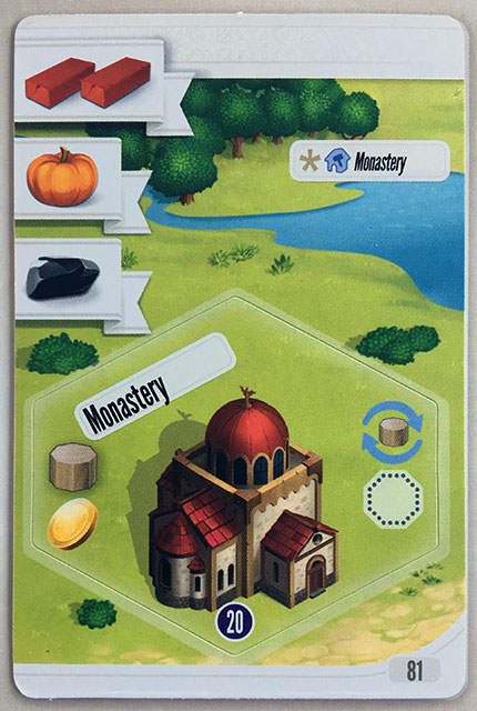 Charterstone Card 81