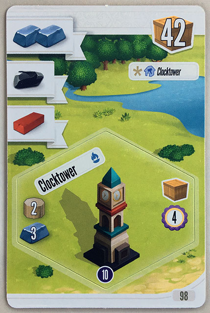 Charterstone Card 98