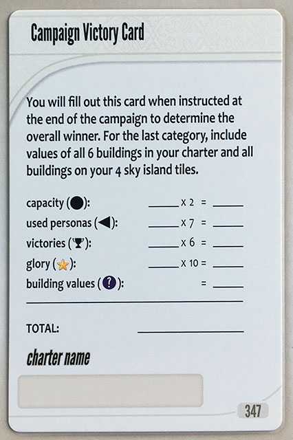 Charterstone Card 347