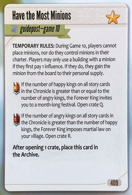 Charterstone Card 409 Revealed