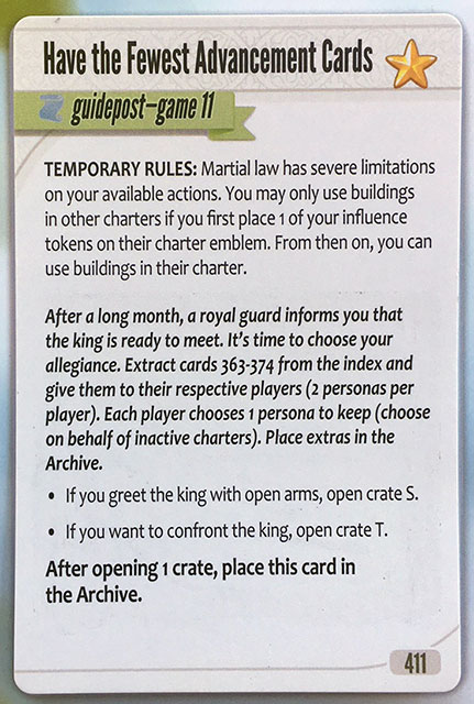 Charterstone Card 411 Revealed