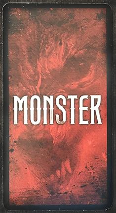Monster Card Back