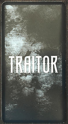 Traitor Card Back