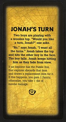 Jonah's Turn Card