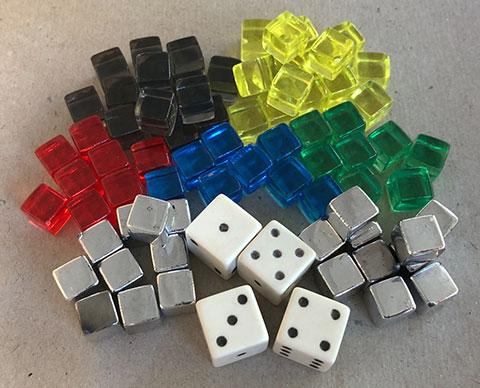 Wingspan Cubes & Dice