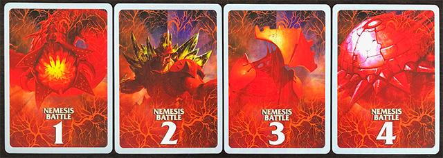 Aeon's End: The New Age - Nemesis Randomiser Backs
