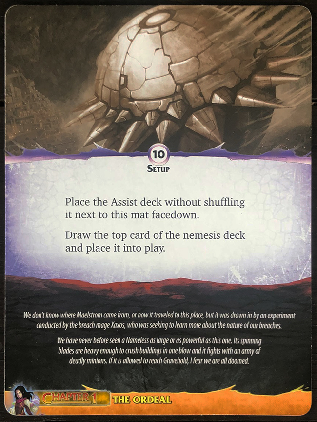 Aeon's End: Legacy - Maelstrom Mat Back