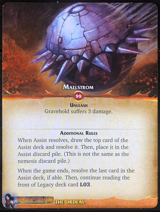 Aeon's End: Legacy - Maelstrom Mat Front