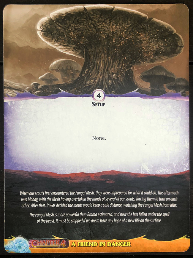 Aeon's End: Legacy - Fungal Mesh Mat Back
