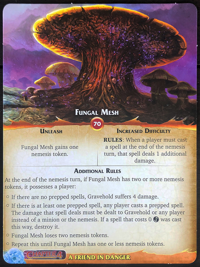Aeon's End: Legacy - Fungal Mesh Mat Front