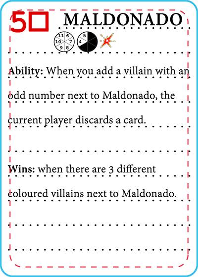 18 Card Legacy - Maldonado