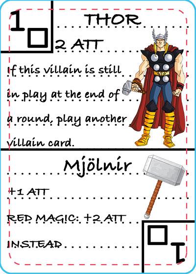Thor Card