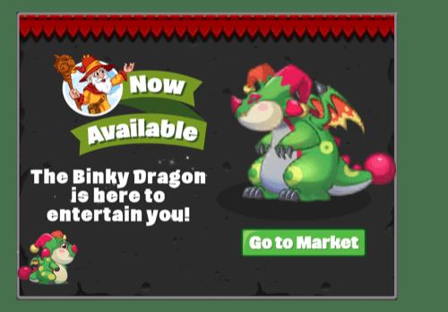 Binky Dragon Announcement