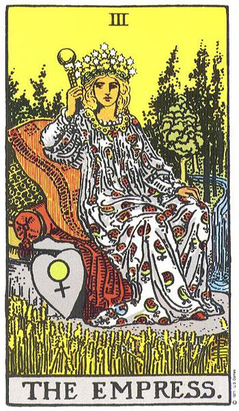 Thoth Empress Tarot Card Tutorial