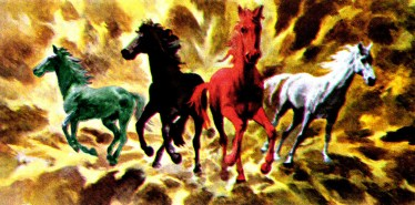Revelations Four Horses of the Apocalypse