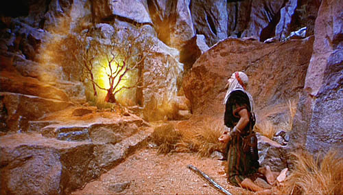 Burning Bush Talks to Moses Symbology - Esoteric Meanings