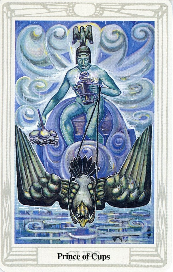 Three Of Cups Thoth Tarot Card Tutorial Esoteric Meanings