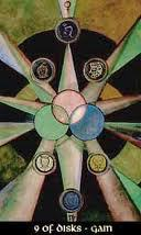 thoth tarot nine of disks