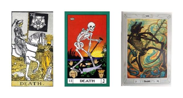 Thoth Death Tarot Card