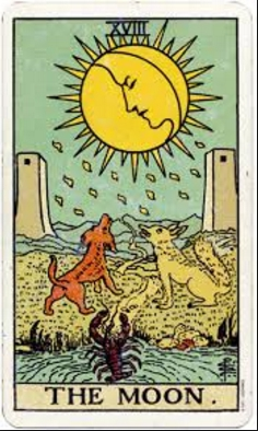 Image result for picture of moon tarot