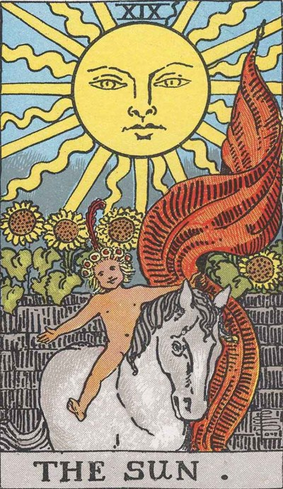 Thoth Sun Tarot Card