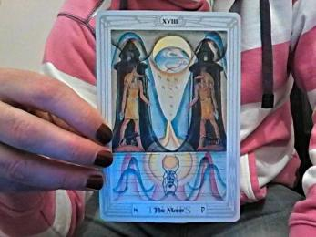 Thoth Moon Tarot Card Tutorial