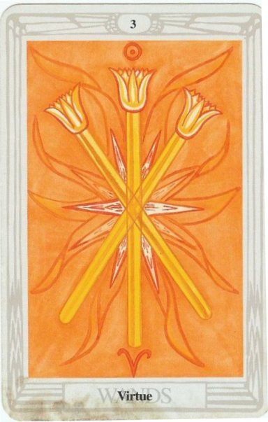 Three of Wands Rider Waite
