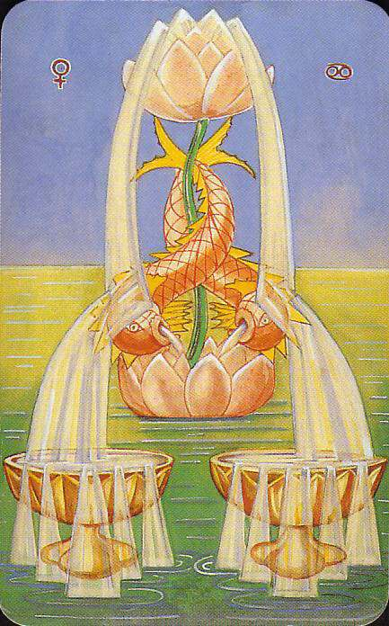 Image result for 2 of cups thoth