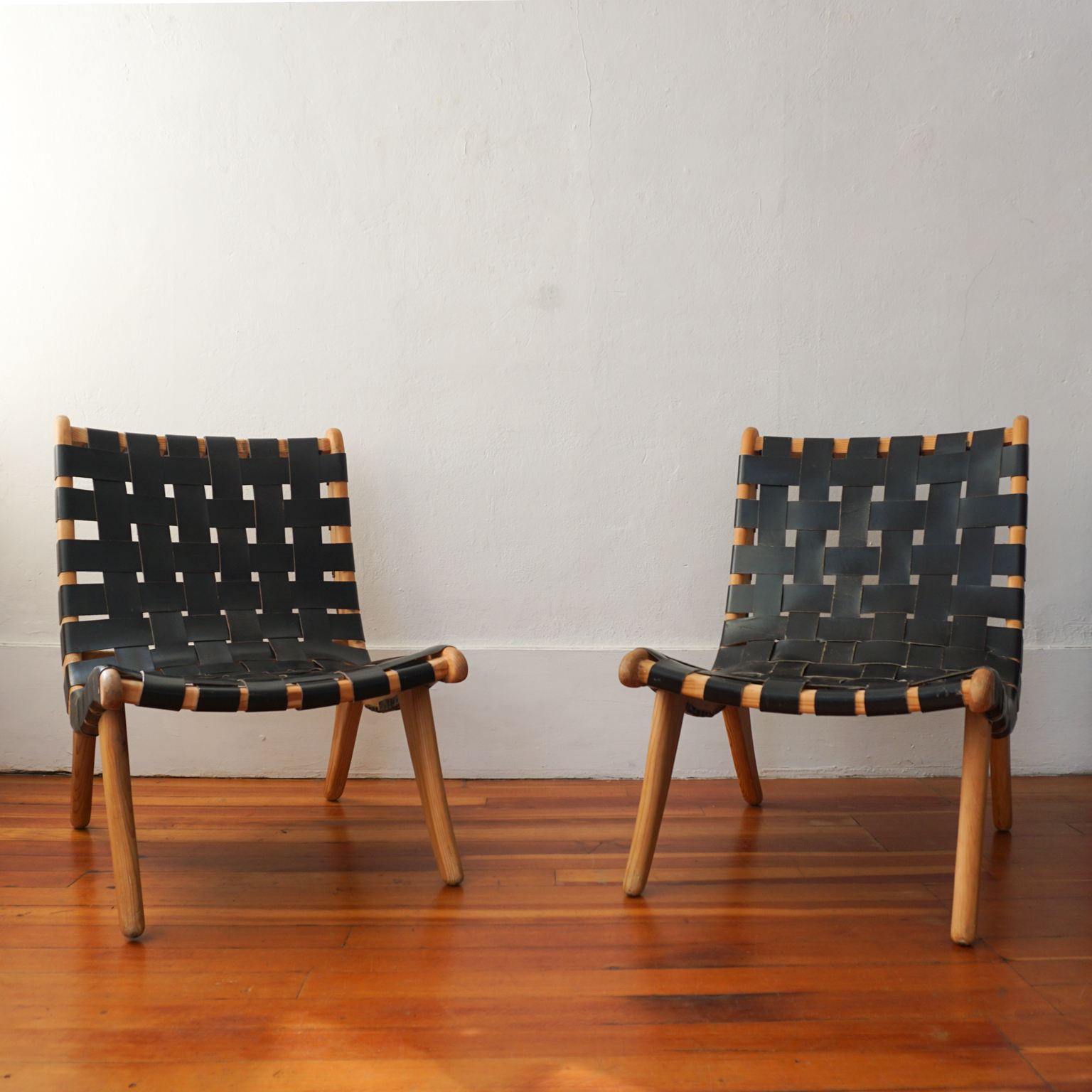 Pair Of San Miguelito Chairs By Michael Van Beuren For Domus Of