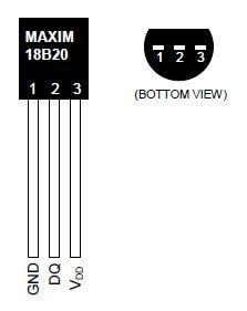 Wemos mini DS18B20 temperature sensor example - esp8266 learning