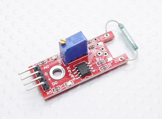 Wemos and reed switch example esp learning
