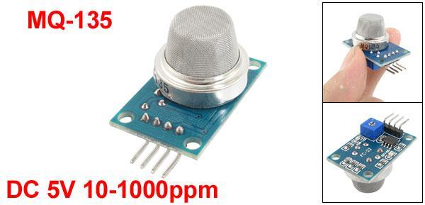 Wemos and a MQ-135 sensor - esp8266 learning