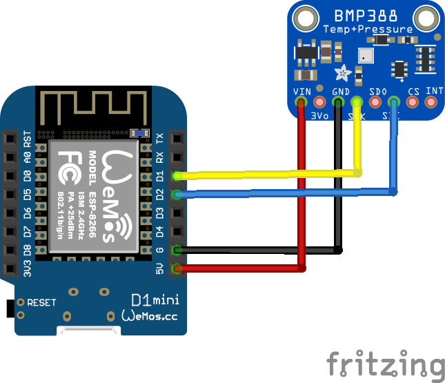 wemos and bmp388