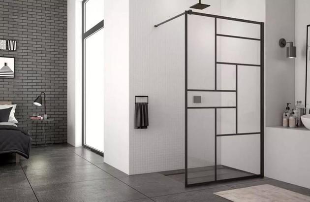 les parois de douche pour un style