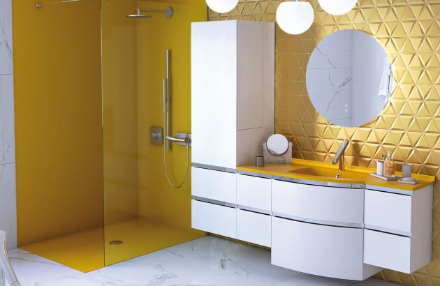 couleur a la salle de bain