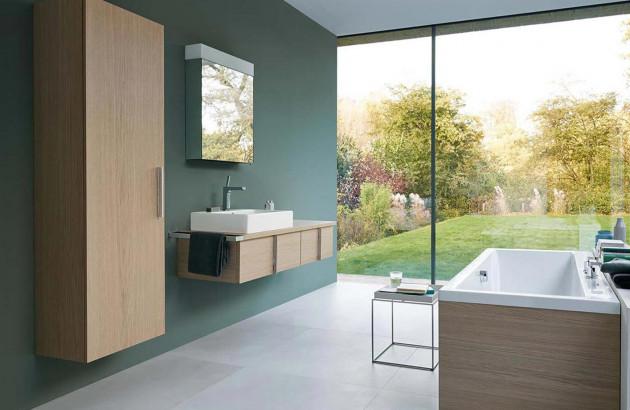 couleurs peps pour votre salle de bains