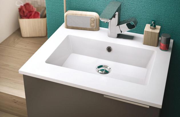 petite salle de bains de 3m
