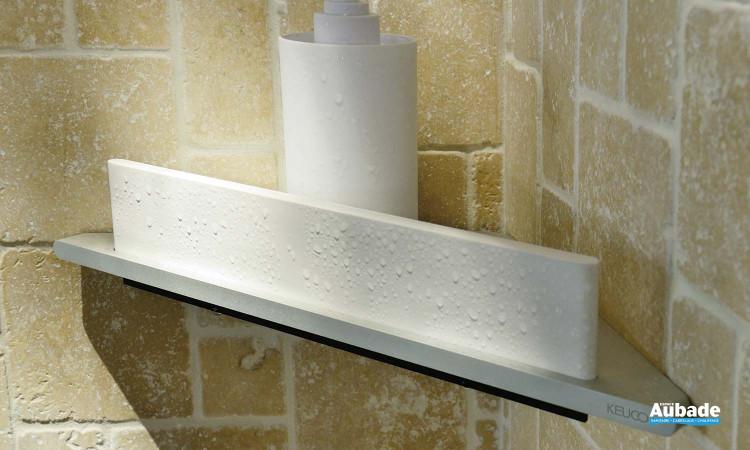 Tablette de douche dangle avec raclette EDITION 400 Keuco  Espace Aubade