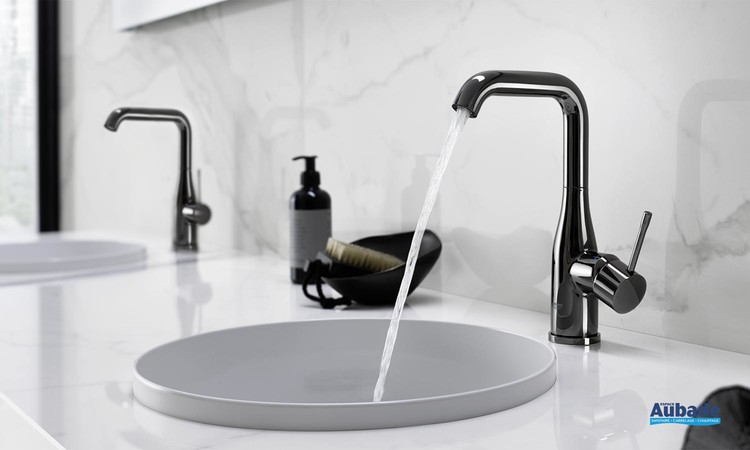 robinets lavabos vasques grohe essence finition mat modele l