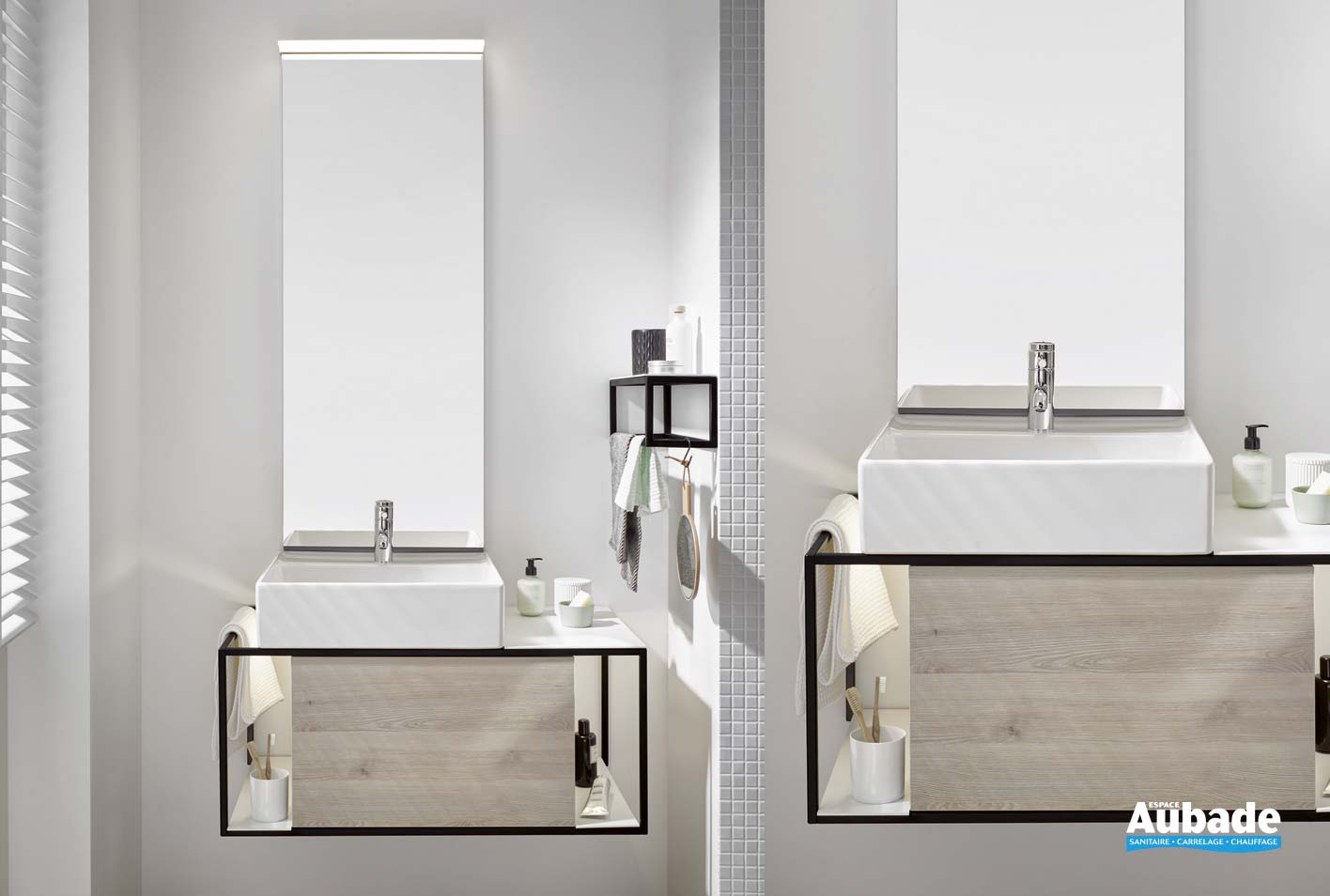 meuble salle de bain junit de burgbad espace aubade