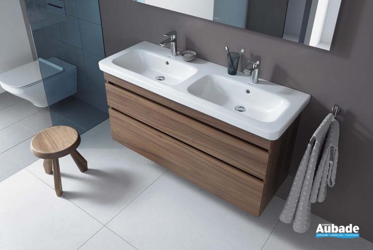 meubles de salle de bains en bois duravit durastyle