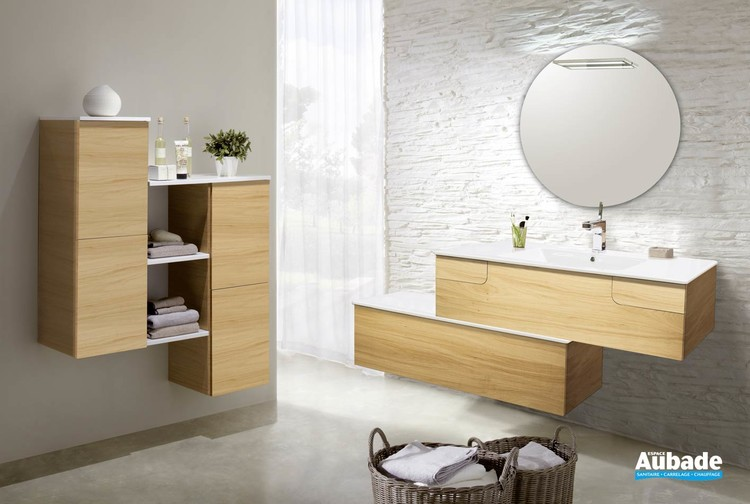 meubles salle de bains lido collection evok