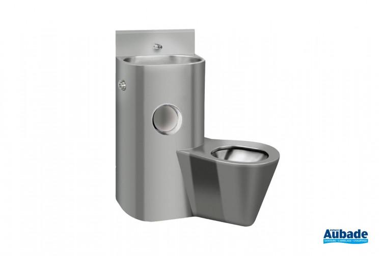 pack wc avec lavabo lave main integre