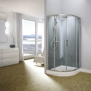 cabine de douche integrale carree sanswiss modul r