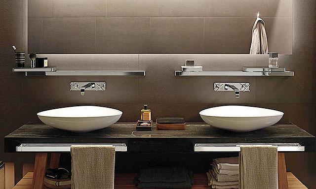 Robinet mural pour vasque et lavabo Axor Citterio E  Espace Aubade
