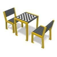 ELEGANCE Table De Jeu Avec Chaises Vignette 200