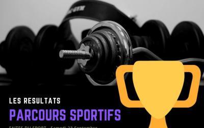 Lauréats du Challenge SPORTIF – FAITES DU SPORT