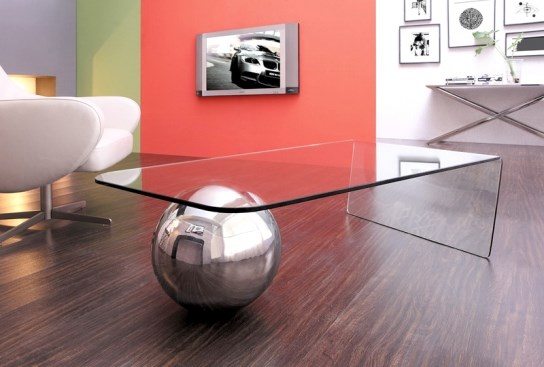 Design Avec Une Brillance Du Metal Et Du Verre Descriptif D Taill La Table Basse Largo